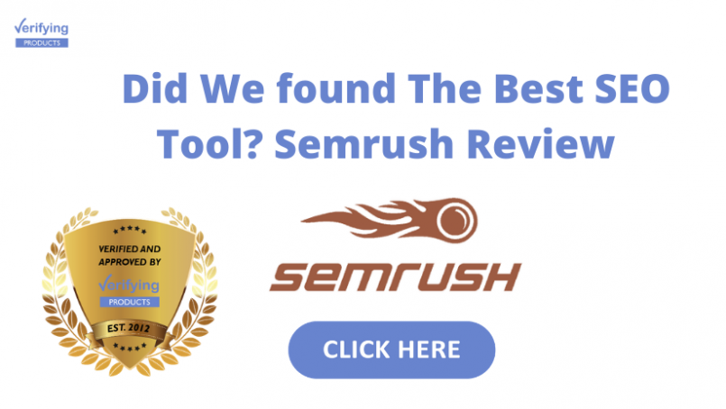 Which Best Free SEO Tool In 2020: SEMrush Review